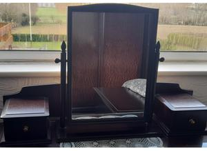Stag Minstrel Mirror & Drawers Top Unit