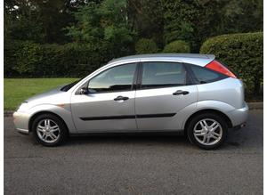 FORD FOCUS 2002(51) MOT 9 MONTHS LOW MILEAGE CHEAP CAR THAT DRIVES VERY WELL
