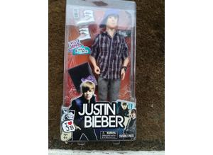 Justin Bieber 2010 Unopened Boxed Doll