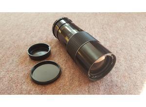 STAR-D Auto, No. 81334, Detachable Japanese Camera Lens, 100 -200mm, Photography