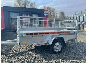 BRAND NEW 8.2 X 4.3 SINGLE AXLE MASTER TRAILER WITH 40CM MESH 750KG