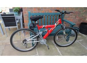 "Apollo ""Excel"" Full Suspension Mountain Bike 18"" Medium Frame"