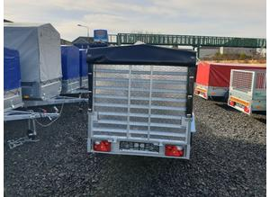 BRAND NEW 2020 MODEL 8.7x4.2 SINGLE AXLE TRAILER WITH FRAME AND COVER AND RAMP TIPPING
