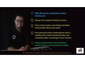 Online & In-person Piano Lessons   Ottantotto Piano School