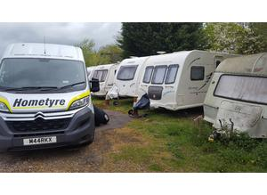Caravan tyres fitted at your location