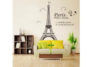 Romantic Paris Eiffel Tower Beautiful View of France
