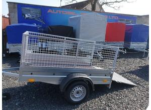 BRAND NEW MODEL 6X4 TRAILER WITH 60CM MESH AND RAMP