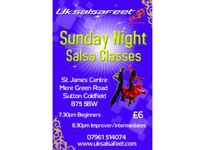 Sutton Coldfield Salsa Classes