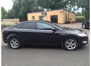 FORD MONDEO 2.0 TDCI TITANIUM 2009 6 SPEED DIESEL 6 MONTHS MOT FULL SERVICE HISTORY HALF LEATHER ALLOYS