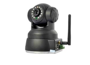 Wireless IP Camera with Pan Tilt Night Vision 2-Way Audio