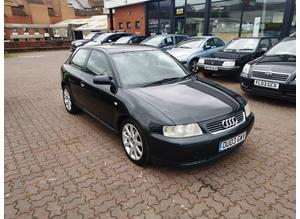 Audi A3, 2003 (03) Black Hatchback, Manual Diesel, 132,338 miles