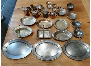 H.M.S Endurance Officers Mess Silver Plated Items