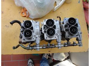 Intake manifold and carburetors for Fiat Dino 2000