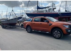 Boat caravan car trailers plant machinery etc transport