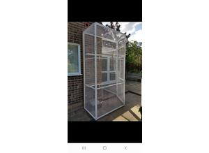 Top quality steel fabricated kennels/catteries/cages/runs