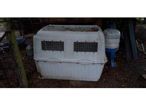 Large airline crate.fox/mite proof poultry house