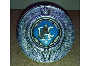 1930's Royal Automobile Club associate badge