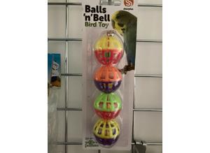 Balls n Bell Bird Toy