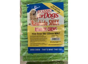 Rawhide Mint SNAX For Dogs