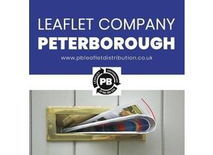 Leaflet Company Peterborough