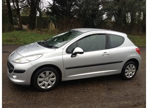 PEUGEOT 207 1.4 S 2009 (59) MOT 10 MONTHS FULL SERVICE HISTORY – CHEAP CAR TO TAX AND INSURE