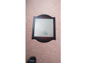 Mahogany Wall Mirror in solid wood