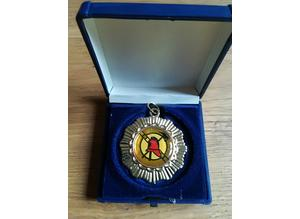 Fire Brigade Sports Medal Boxed New