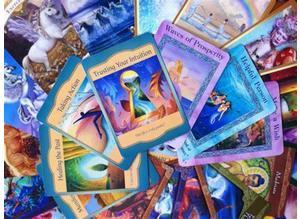 Oracle Card Readings, and/or Mermaid Tarot Readings