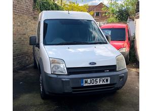 2005 (05) FORD TRANSIT CONNECT T230 LWB High Roof 1.8 DIESEL 5 Dr in WHITE, LONG MOT, NO VAT