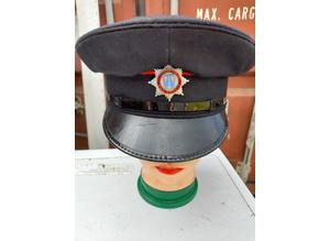 Cheshire Fire Brigade 1980's Hat