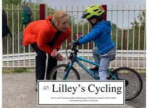 Private Cycling Lessons - Northants, P'boro', Cambs, Lincs