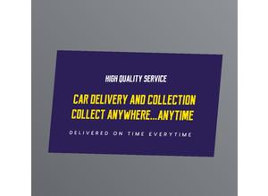 Car collection and delivery service