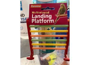 Multicoloured Landing Platform