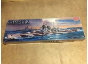 Academy 1414 German Battleship Tirpitz 1:350