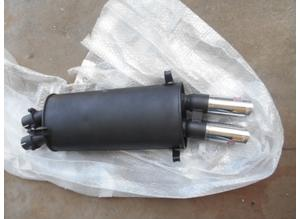 Exhaust silencer for Maserati Biturbo