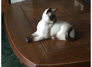 Royal Doulton Siamese Cat 1558