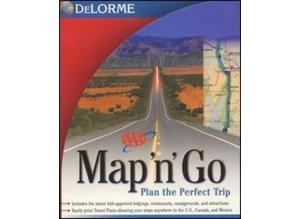 Delorme map'n'go USA/Canada Route Finder