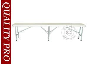 Folding bench set 242x28x43 cm (25 pcs.)