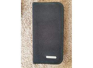 New Pullman black canvas CD or DVD holder, case or CD wallet