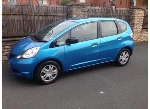HONDA JAZZ ( NEW SHAPE ) 1.2L, 2009 REG, VERY LOW MILEAGE ONLY 68,000 MILES