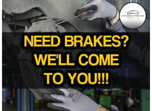 MOBILE MECHANIC BRAKE DISCS & PADS SUPPLIED & FITTED AT YOUR HOME