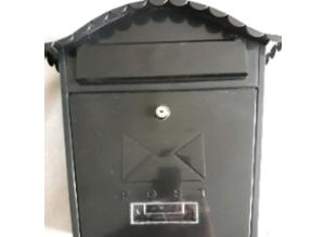 lockable wall mounted postbox