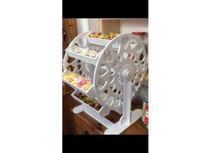 sweet carousel candy cart big wheel party baby showers