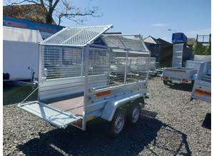 BRAND NEW MODEL 7.7x4.2 DOUBLE AXLE TRAILER WITH 80CM MESH