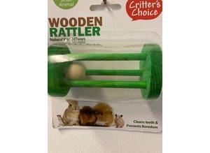Critters Choice Wooden Rattler