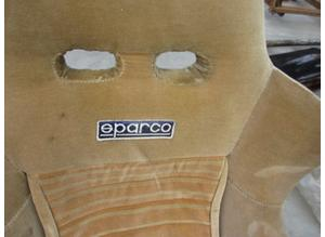 Front seats Sparco