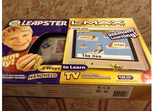 L-Max game by Leapster Age 4-7 8 skills New-unopened
