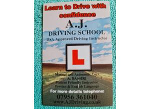 Automatic driving school in London n21