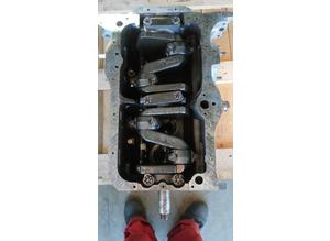 Engine block with crankshaft Fiat 1100 type 103g005