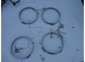 Headlight rings for Maserati Quattroporte series 2